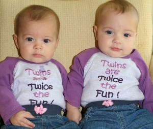 twins are twice the fun